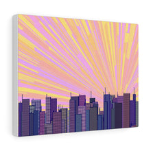 Load image into Gallery viewer, GenArt Urban Sunrise 1 Canvas Gallery Wraps