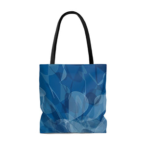 Water Rose AOP Tote Bag