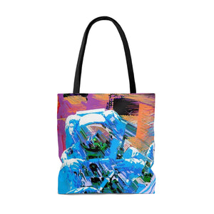 Astro Three AOP Tote Bag