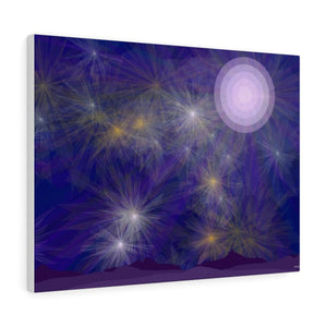 "GenArt ""It's a Blue Starry Night"" Canvas Gallery Wraps"