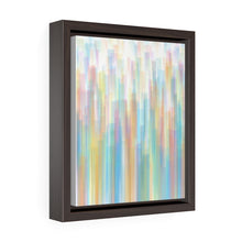 Load image into Gallery viewer, GenArt Streaking Subtly 2 Vertical Framed Premium Gallery Wrap Canvas