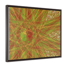 Load image into Gallery viewer, GenArt Un(?)raveling. Horizontal Framed Premium Gallery Wrap Canvas