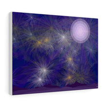 "Load image into Gallery viewer, GenArt ""It's a Blue Starry Night"" Canvas Gallery Wraps"