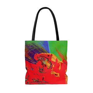 Astro Five AOP Tote Bag