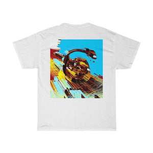 Astro Nine Front and Back Printed Unisex Heavy Cotton Tee