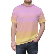 "Load image into Gallery viewer, ""Terran Sunrise 1"" Unisex AOP Cut & Sew Tee"