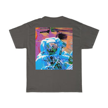 Load image into Gallery viewer, Astro Three Front and Back Printed Unisex Heavy Cotton Tee