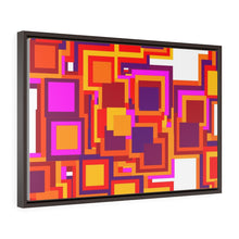 Load image into Gallery viewer, GenArt Mom and Pop Art 3. Horizontal Framed Premium Gallery Wrap Canvas