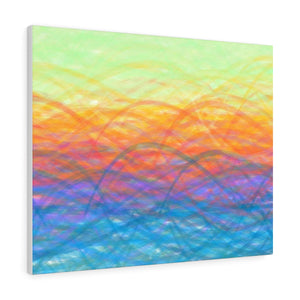 GenArt More Turbulent Serenity Canvas Gallery Wraps