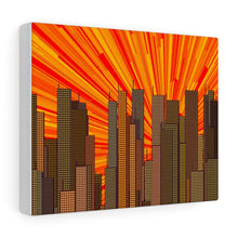 Load image into Gallery viewer, GenArt Urban Sunset 1 Canvas Gallery Wraps