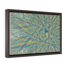 Load image into Gallery viewer, GenArt Un(?)raveling, too. Horizontal Framed Premium Gallery Wrap Canvas