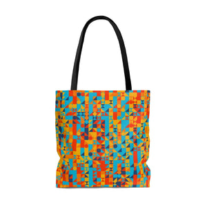 Auto Small Cell 2 AOP Tote Bag