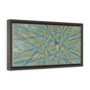 GenArt Un(?)raveling, too. Horizontal Framed Premium Gallery Wrap Canvas