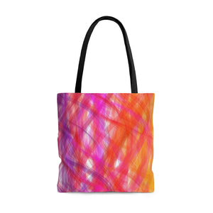More Turbulent Serenity AOP Tote Bag