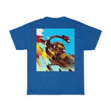 Load image into Gallery viewer, Astro Nine Front and Back Printed Unisex Heavy Cotton Tee