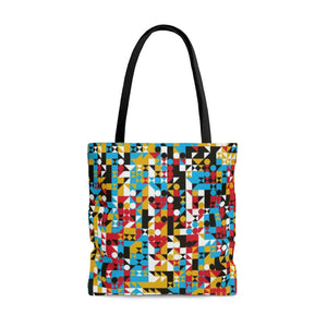 Auto Small Cell 1 AOP Tote Bag