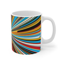 Load image into Gallery viewer, Mondrian Stripes Mug 11oz