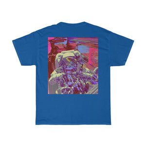 Astro Four Front and Back Printed Unisex Heavy Cotton Tee