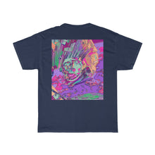 Load image into Gallery viewer, Astro Eleven Front and Back Printed Unisex Heavy Cotton Tee