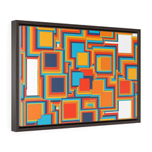 Load image into Gallery viewer, GenArt Mom and Pop Art 1Horizontal Framed Premium Gallery Wrap Canvas
