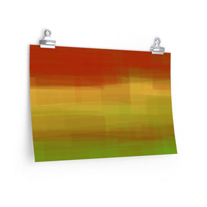 "GenArt ""Color is my Jazz"" Premium Matte horizontal posters"