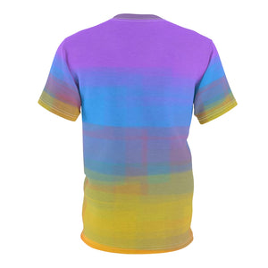 """Not Your Momma's Tie Dye"" Unisex AOP Cut & Sew Tee"