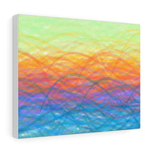 Load image into Gallery viewer, GenArt More Turbulent Serenity Canvas Gallery Wraps