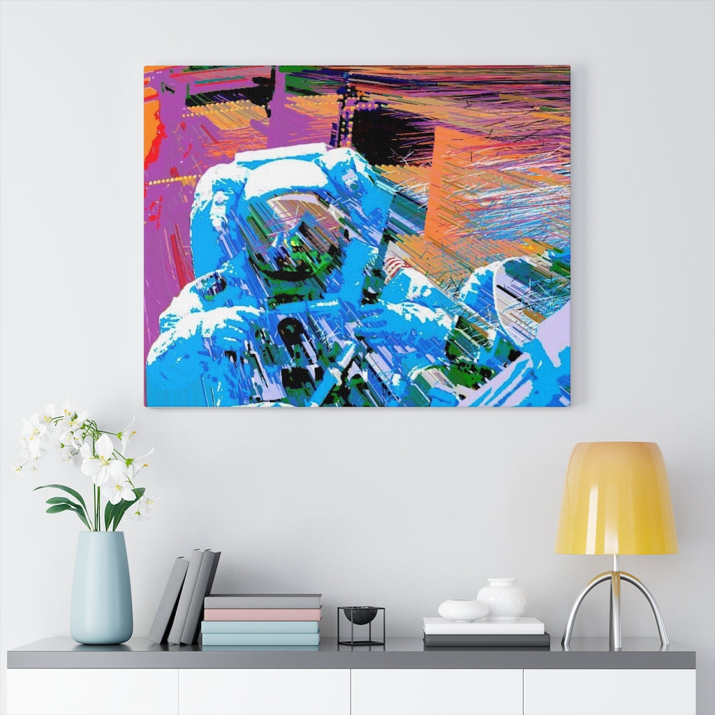 Astro Three. Canvas Gallery Wraps