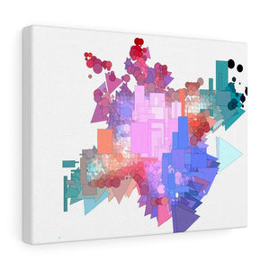 Shape Jumble 1 Canvas Gallery Wraps