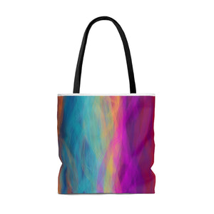 """Postcard from a Gas Giant"" AOP Tote Bag"