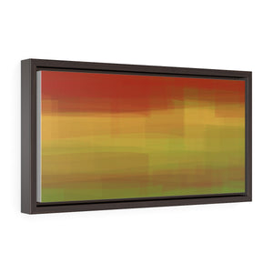 "GenArt ""Color is my Jazz"" Horizontal Framed Premium Gallery Wrap Canvas"