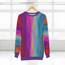 Load image into Gallery viewer, Postcard From a Random Gas Giant AOP Unisex Sweatshirt