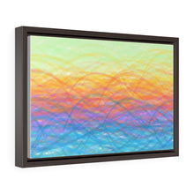 Load image into Gallery viewer, GenArt More Turbulent Serenity Horizontal Framed Premium Gallery Wrap Canvas