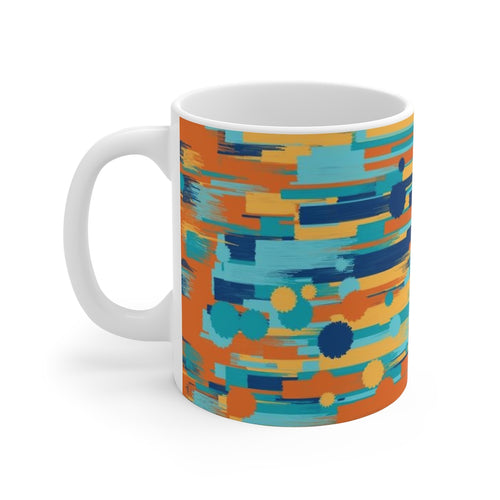 Streaks and Splotches Mug 11oz