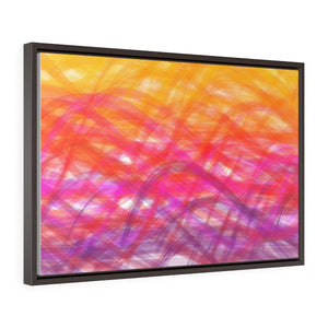 GenArt Even More Turbulent Serenity Horizontal Framed Premium Gallery Wrap Canvas