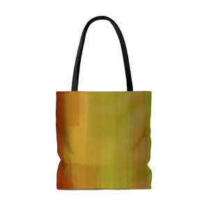 """Color is My Jazz"" AOP Tote Bag"