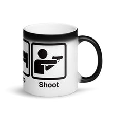 Load image into Gallery viewer, Eat. Sleep. Shoot. Magic Mug