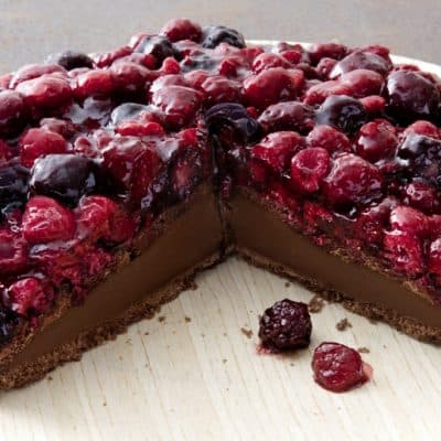 Chocolate Mixed Berry Cake