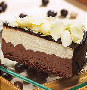 3 Chocolate Mousse Cake