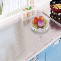 Thinktoo DIY Waterproof Oil Proof Aluminum Foil Self Adhesive Wall Sticker Stove Cabinet Big Sale