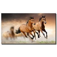 Horses Running Print Canvas for Home Wall Art Decor Living Room Bedroom Decor