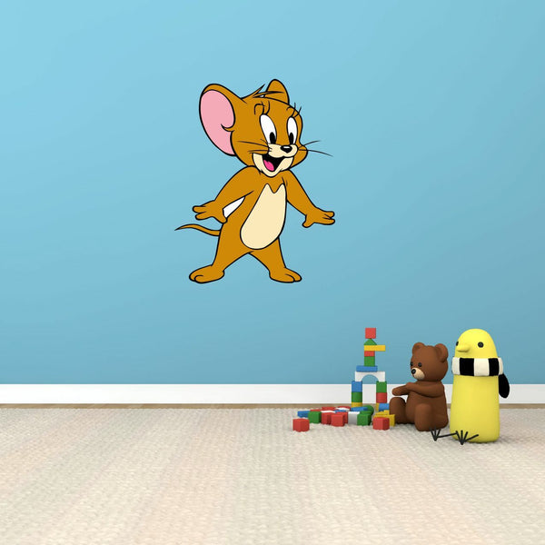 "Tom and Jerry Cat Mouse Cartoon Kids Baby Room Wall Decor Sticker Decal 16""X25"""