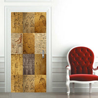 3D Egypt History Culture Living Room Door Mural Wall Sticker Photo Home Decor