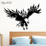 Funny Home Decor Eagle Wall Sticker for Living Room Decoration Hawk Decal Vinyl