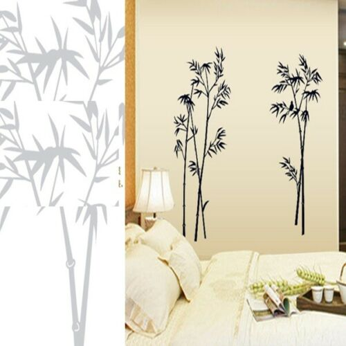 Wall Stickers Home Decoration Bamboo Decals Bedroom Living Room House Art Decors