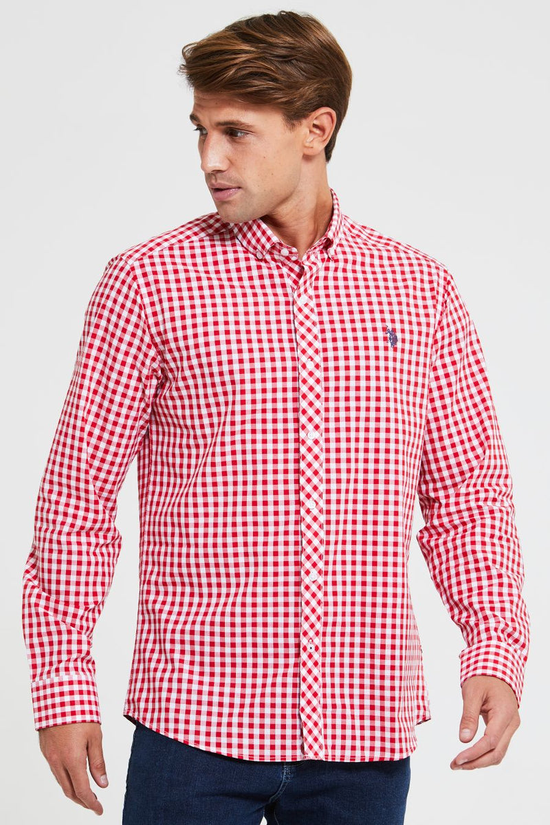 U.S. Polo Assn. Gingham Shirt