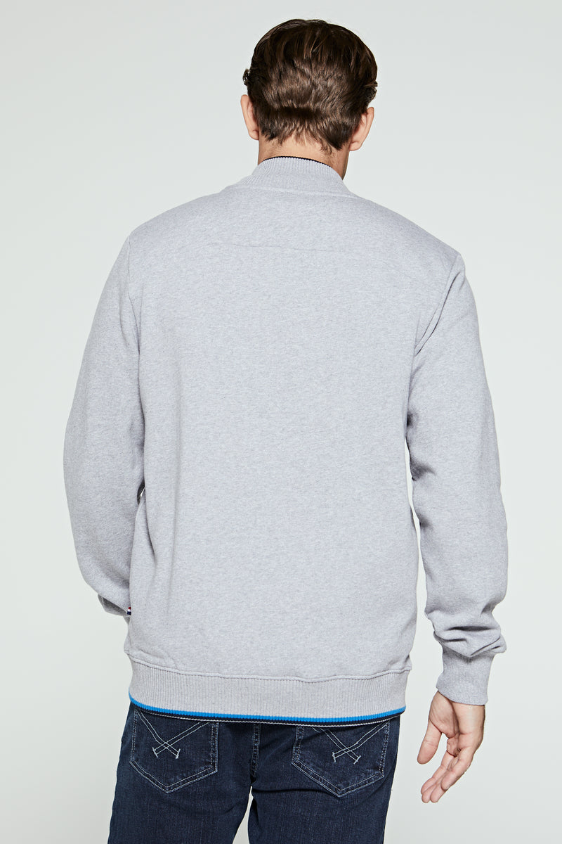 U.S. Polo Assn. Zip-Through Sweat Bomber