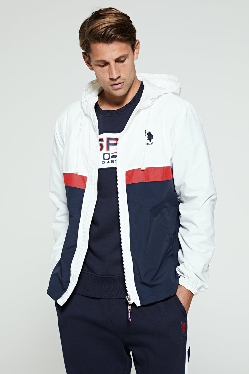 U.S. Polo Assn. Colour Block Windcheater