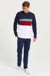 U.S. Polo Assn. Varsity Block Long Sleeve T-Shirt