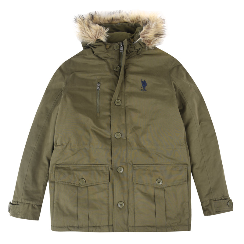 U.S. Polo Assn. Hooded Parka Jacket